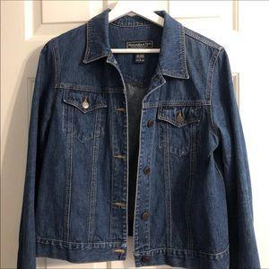 Vintage 90s Abercrombie & Fitch Jean Jacket Large